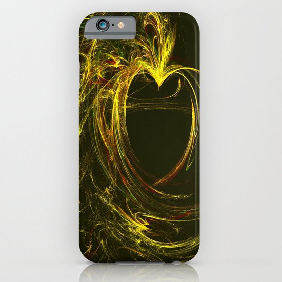 Golden Heart iPhone & iPod Case