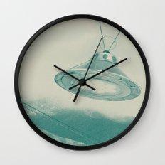 UFO II Wall Clock