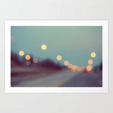 February Shine Art Print