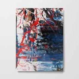 Red Blue 003 Metal Print