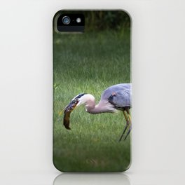 Hungry no more iPhone Case