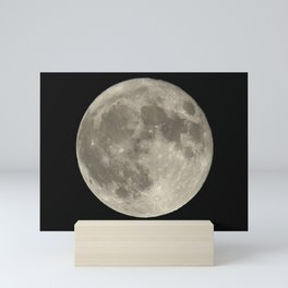 Blue Moon 2020 Mini Art Print