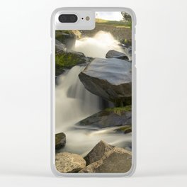 Cottonwood Falls Clear iPhone Case