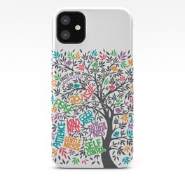 Fruit Of The Spirit (Full Color) iPhone Case