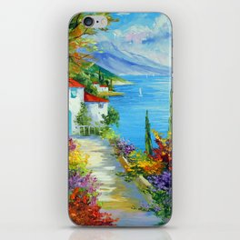 Midday by the sea iPhone Skin