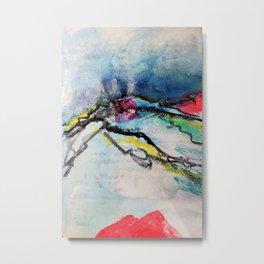 Escarp Metal Print