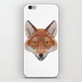 Polygonal Fox iPhone Skin