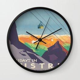 Vintage poster - Austria Wall Clock