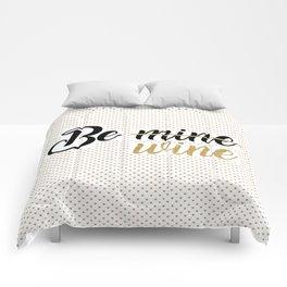 Wine Lovers Unite! Comforters