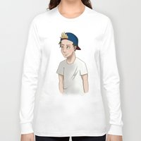 niall horan Long Sleeve T-shirts featuring Niall Horan by Lunnorart