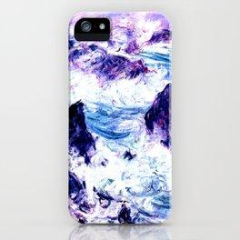 Monet : Storm At Belle Ile Vibrant iPhone Case