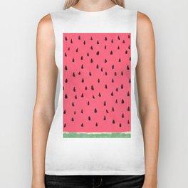 Watermelon / Sandia Biker Tank