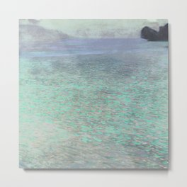 Klimt at Attersee Metal Print