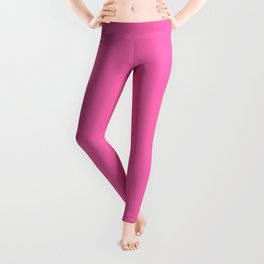 Classy Sassy And A Bit Smart Assy (Hot Pink) Leggings