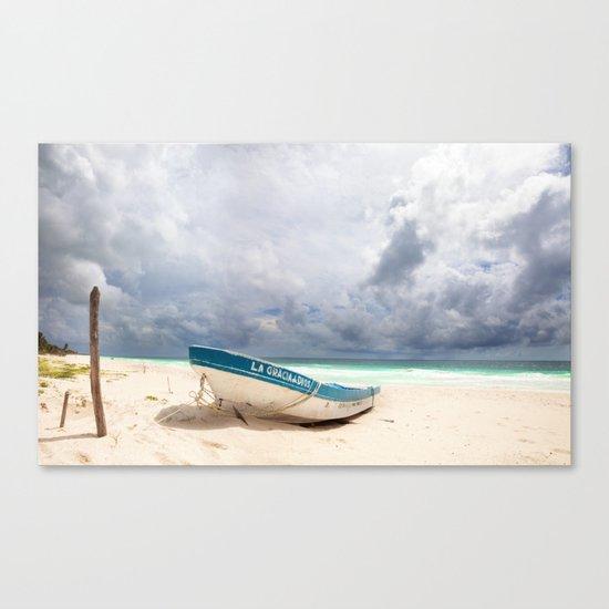 Tropical Tulum Canvas Print