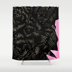 - electroclouds - Shower Curtain