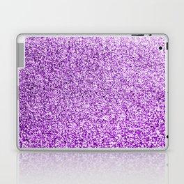 Purple glittery Laptop & iPad Skin