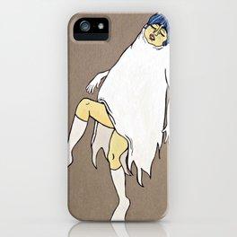 Dancing Girl Ghost iPhone Case