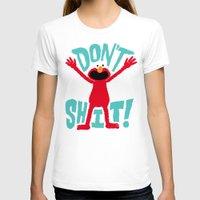 elmo T-shirts featuring Crazy Elmo by Chris Piascik
