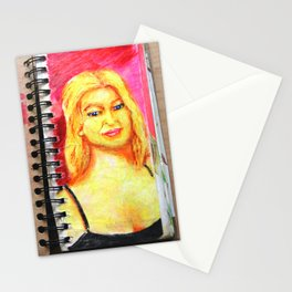 Euro Blonde from A Sketchbook Stationery Cards