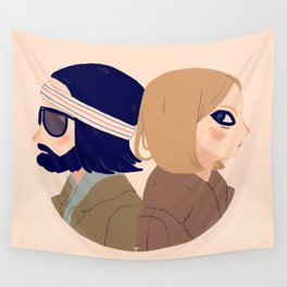 Margot and Richie Wall Tapestry
