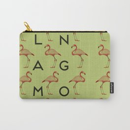 Flamingo #3 Carry-All Pouch