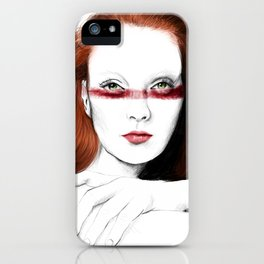 Love Girls - Blood redhead iPhone Case