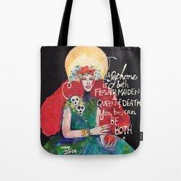 Goddess Persephone Tote Bag