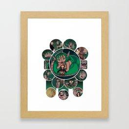 66 fan service Framed Art Print