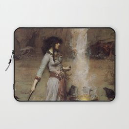 The Magic Circle, John William Waterhouse Laptop Sleeve