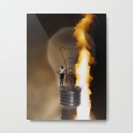 figures of light Metal Print