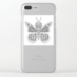 Mothman Clear iPhone Case