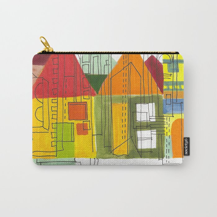 Little Block Town Carry-All Pouch