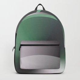 Serene Simple Hub Cap in Green Backpack