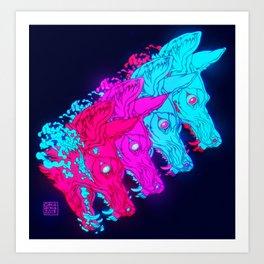P L U N G E Art Print