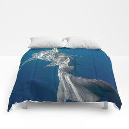 Peaceful Lemon Shark Comforters