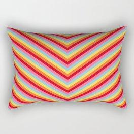 Vivid Chevron Rectangular Pillow