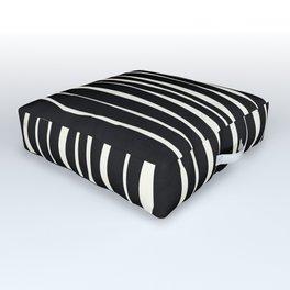 Retro Stripe Outdoor Floor Cushion
