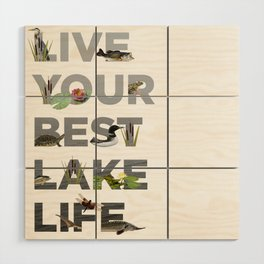 Live Your Best Lake Life Wood Wall Art