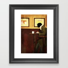 smart phone Framed Art Print