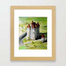 CHATEAU DE JEHAN DE BARBANCOIS Framed Art Print