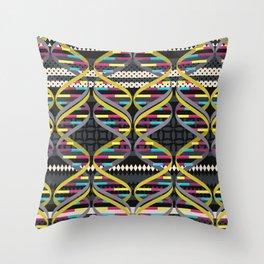 Pattern DNA Throw Pillow