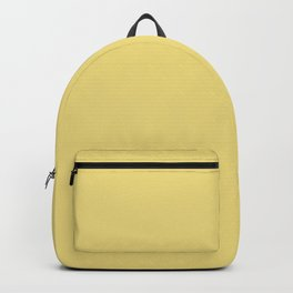 Dusty Yellow Backpack