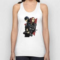 movie poster Tank Tops featuring Movie Poster by Shop 5