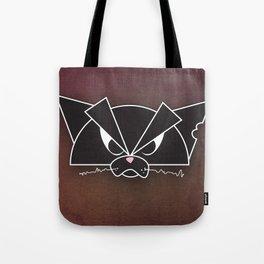 Crabby Cat - black Tote Bag