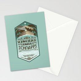 Schweitzer Falls Schnapps Stationery Cards
