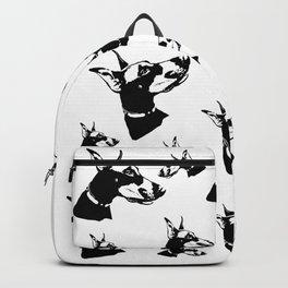 Doberman Pincher Dog Gifts Backpack