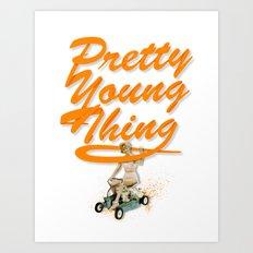 P.Y.T Art Print