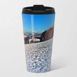 Hiking through winter wonderland II | landscape photography Travel Mug