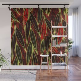 Magical Bamboo Forest in Night Glow Wall Mural